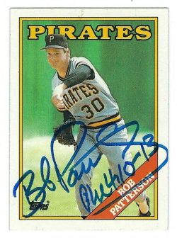 Autographed 1988 Topps Cards