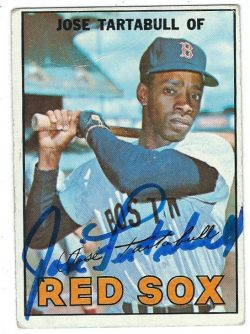 Autographed 1967 Topps Cards