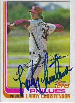Autographed 1982 Topps Cards