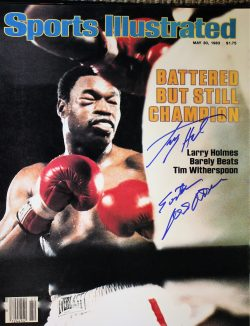 "Autographed Boxing 16"" x 20"" Photos"