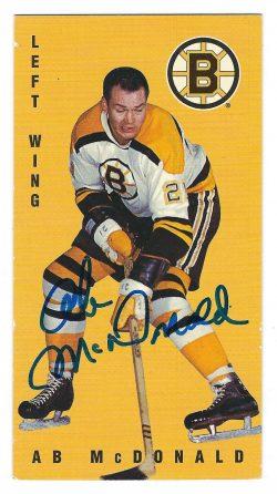 Autographed 1994 Parkhurst Parkies Tall Boy Hockey Cards
