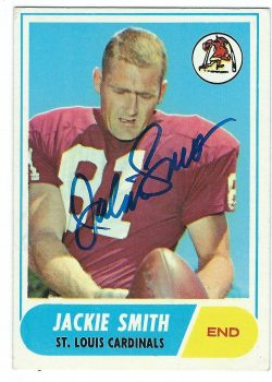 Autographed Football Hall of Fame Football Cards