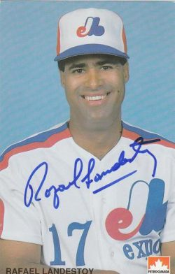 Autographed Montreal Expos Postcards, etc.