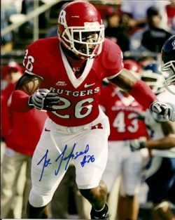 Autographed Rutgers Scarlet Knights Photos