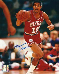 Autographed Hall of Fame Basketball Photos