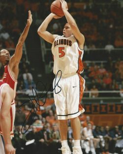 Autographed College Basketball Photos